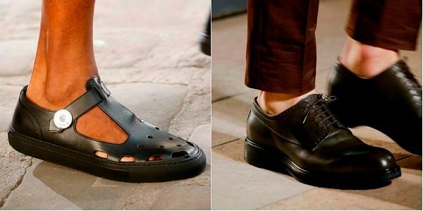 Обувь для мужчин 2018-2019  модные ботинки, тенденции туфель, тренды ... c89697271c5