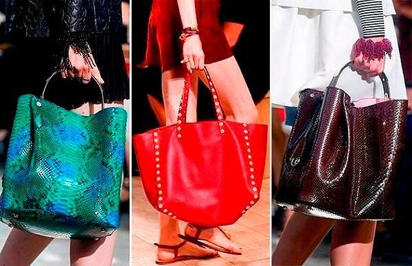 Модные тренды 2018 года: сумки