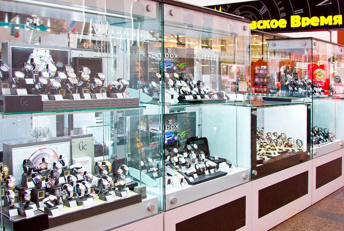 Уважаемые покупатели, вы можете приобрести часы в наших салонах часов