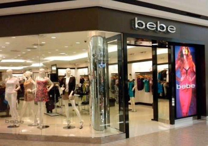 Где купить одежду Bebe - адреса магазинов Bebe.