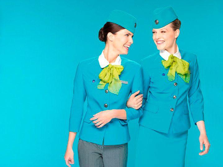 Бортпроводники Air Astana