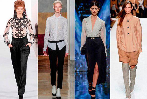 e37319a4259 Модные блузки осень-зима 2014-2015