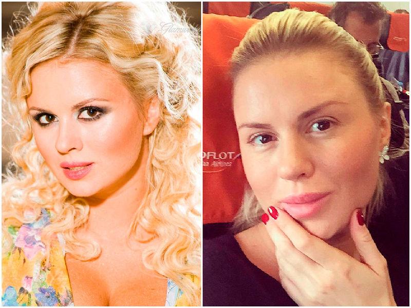 Русская звезда без макияжа