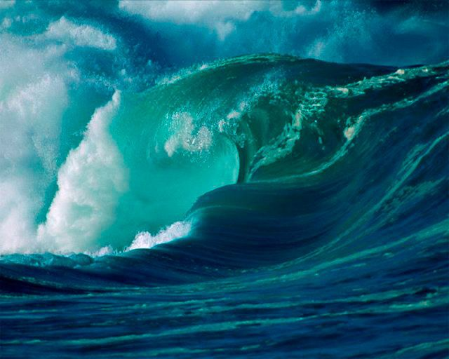 Фантастические океанские волны, которые никогда не станут причиной потопа