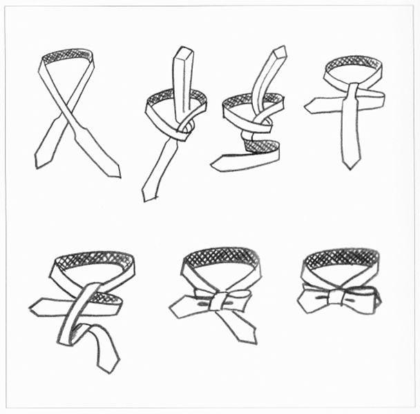 Как сделать своими руками галстук бабочку из бумаги