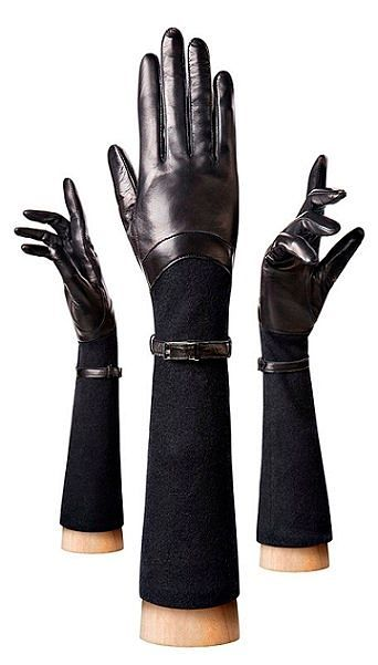 Перчатки кожаные женские купить черно белое платье в интернет магазине