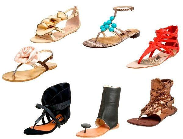 Модные летние обуви