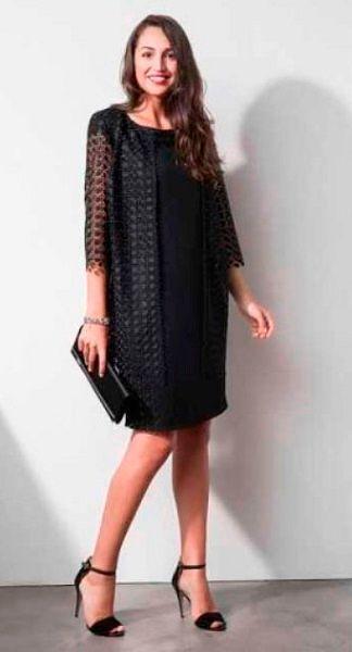 Фото №6: Little Black Dress для пышных дам