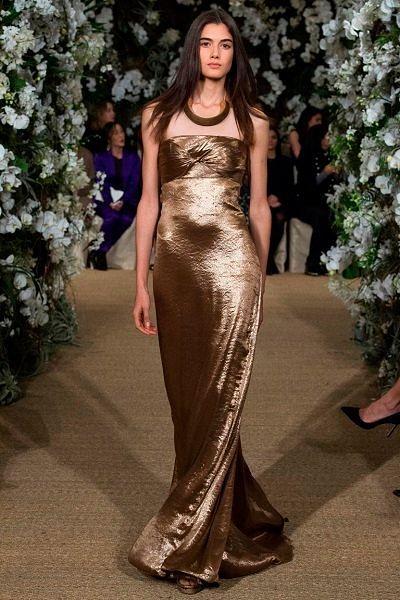 Фото №9: Роскошное платье из коллекции Ralph Lauren