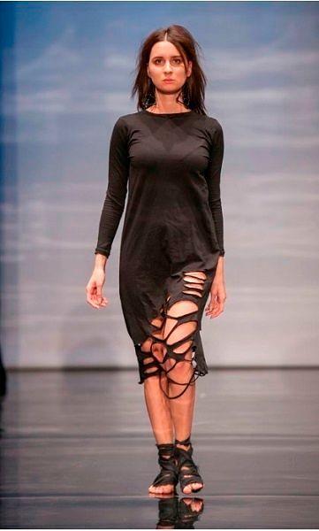 Модные коллекции дизайнеров: фото с показа на Неделе моды в Санкт-Петербурге