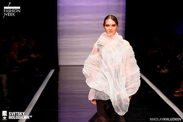 Российские дизайнеры: фото с показа Анастасии Моториной