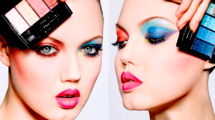 Модные тенденции в макияже и маникюр