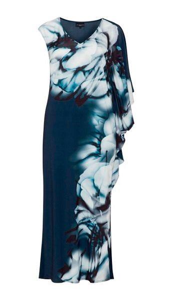 Фото №18: Необычное вечернее платье для полных