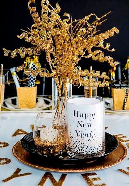 Фото №18: Оформление стола на Новый год 2018 фото