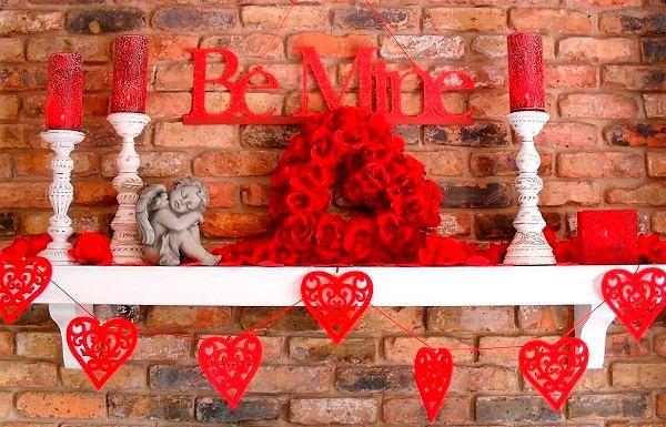 Фото №17: Как украсить комнату на День Святого Валентина своими руками