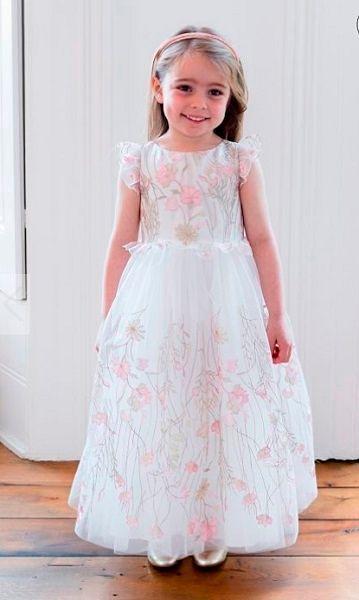 11c1d3c7fdd Фото №2  Детская одежда из коллекции David Charles. Платье на 8 марта на  девочку 4 лет ...