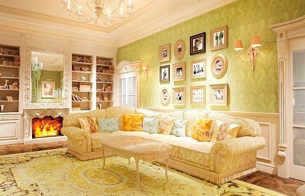 Фото №7: Не модный дизайн интерьера гостиной: фото