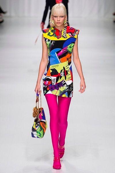 Фото №15: Одежда и украшения pop-art от Versace