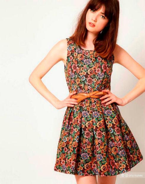 Фото №3: Платья из гобелена с ремешком, фото