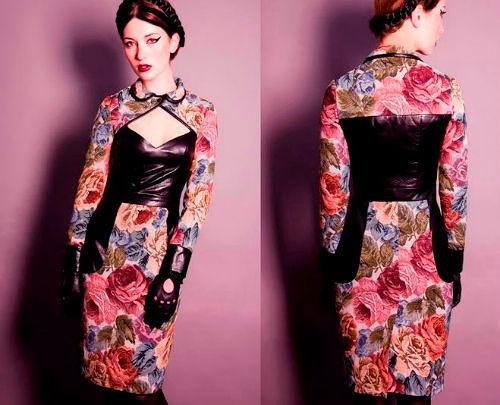 Фото №5: Какие вечерние платья из гобелена в моде, фото