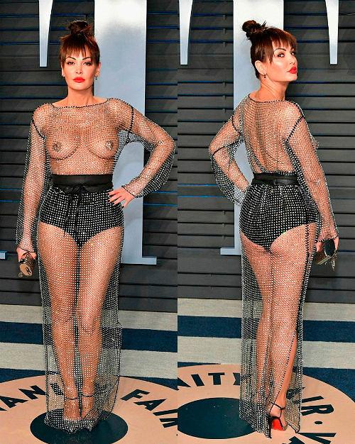 Фото №15: Голое скандальное платье 2018, фото