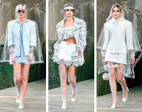 Фото №7: Одежда из пластика - тренд 2018 года