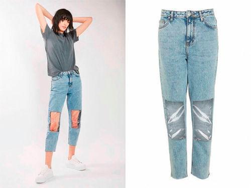 Фото №10: Модные штаны со вставками из пластика 2018