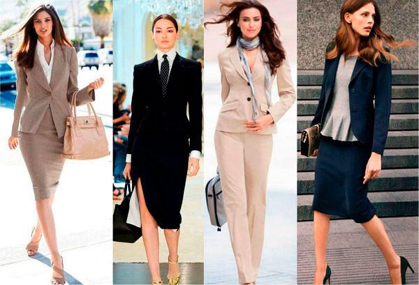 Фото №2: Офисный стиль одежды для девушек, фото 2018