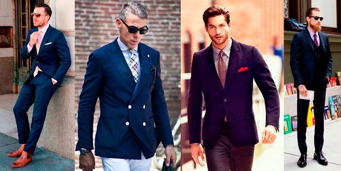 Фото №12: Модная деловая одежда для мужчин 2018, фото