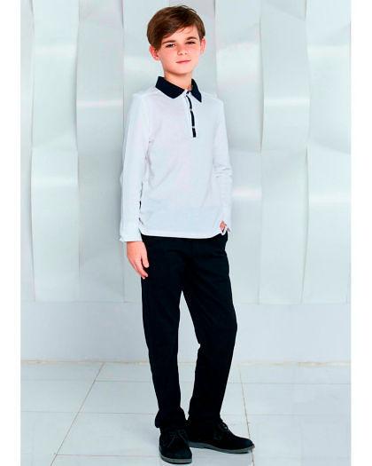 Фото №7: Стильные школьные брюки для мальчиков, фото
