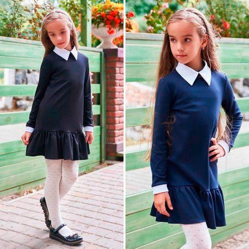 Фото №3: Стильные школьные платья 2018-2019, фото