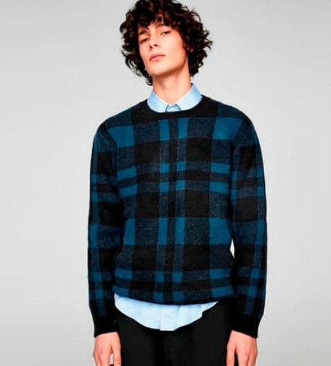 Фото №13: Школьный свитер для юноши, фото