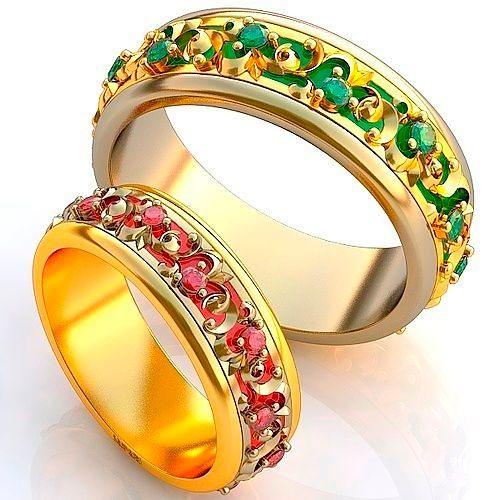 Фото №1: Модные обручальные кольца 2018, фото