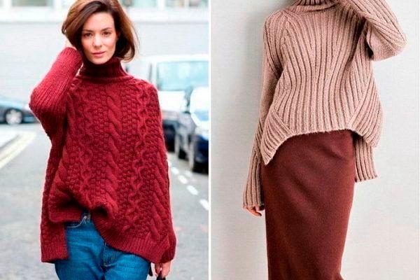 Фото №7: Модные цвета свитеров осень-зима 2018-2019, фото