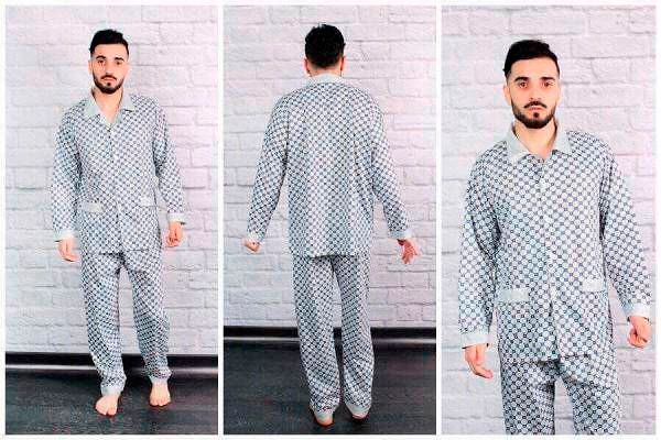 Фото №5: Модные мужские пижамы 2018, фото