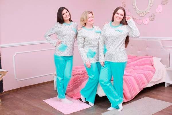 Фото №8: Модные женские пижамы 2018 для полных, фото