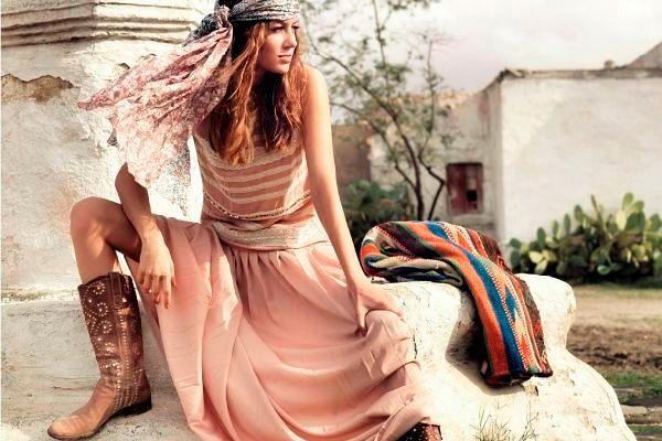 Фото №3: Женские платья 2018 в ковбойском стиле, фото