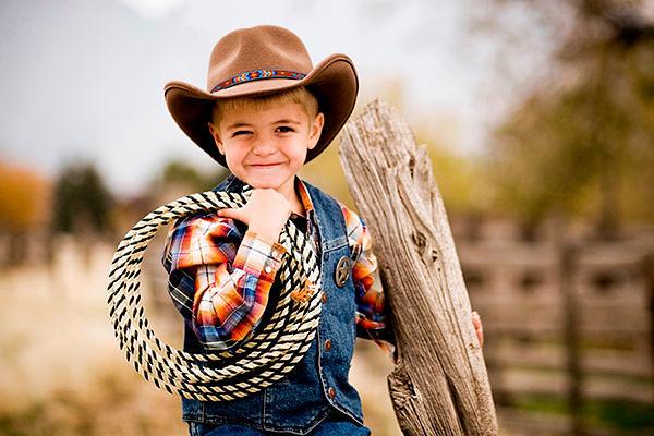 Фото №9: Детская одежда 2018 в стиле вестерн, фото