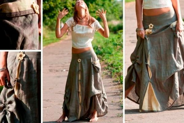 Фото №4: Женские юбки 2018 в ковбойском стиле, фото