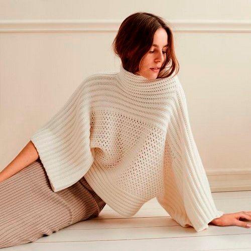 Фото №9: Стильные свитера для девушек 2018, фото