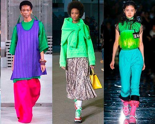 Фото №6: Многоцветные дизайнерские решения из новых коллекций