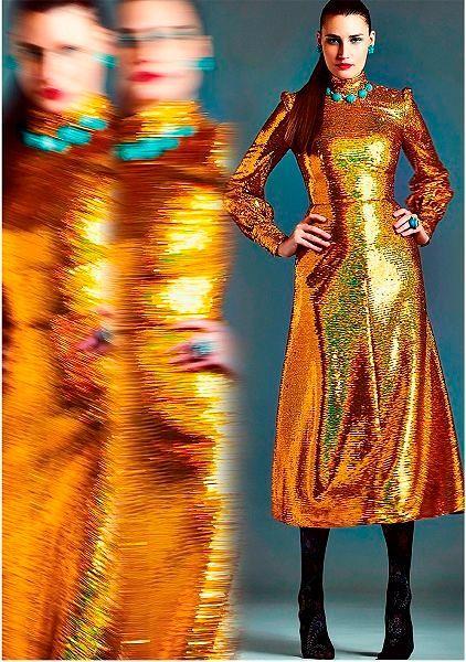 Фото №10: Купить платье на Новый год 2019 можно и в бутиках российских дизайнеров