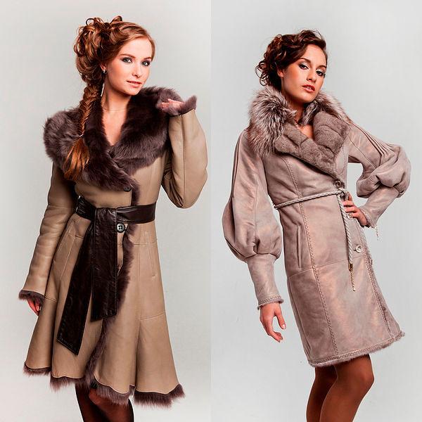 Фото №11: Модные коллекции женских дубленок дешевле