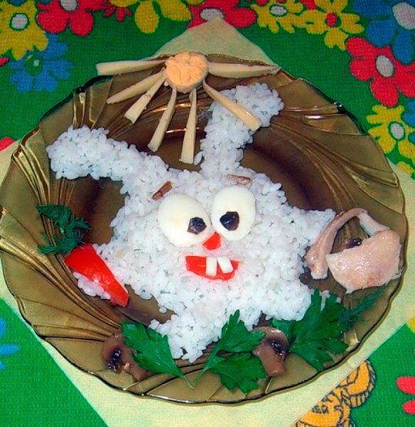 Фото №22: Оригинальные идеи оформления праздничных блюд