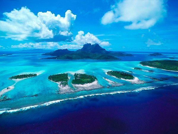 Фото №7: Модные пляжи: фото Французской Полинезии
