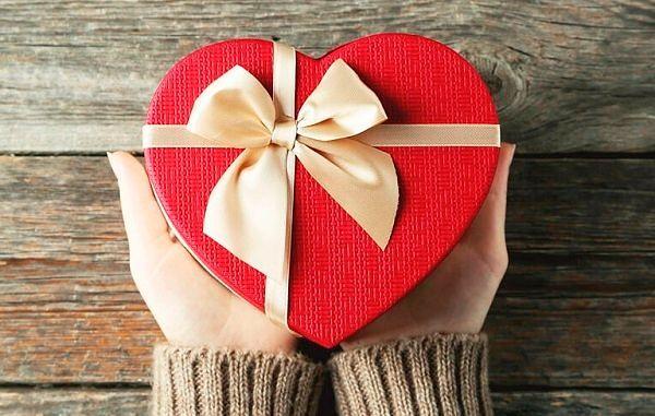 Фото №17: Подарки на 14 февраля в форме сердца.