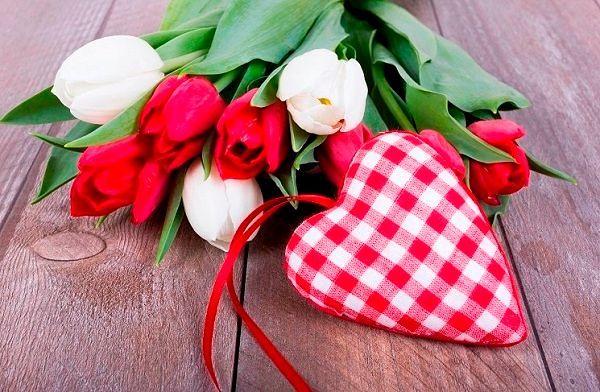 Фото №4: Цветы  в подарок на 14 февраля.