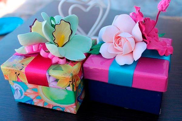 Фото №15: Украшение подарка на 14 февраля.
