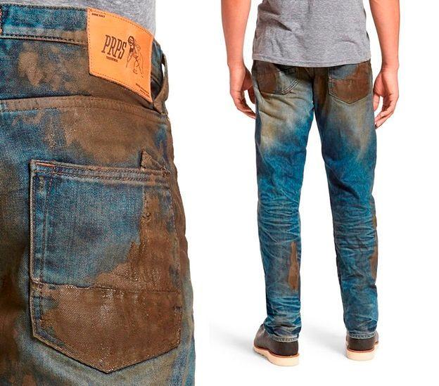 Фото №6: Модная грязная одежда.