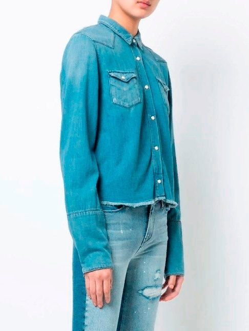Фото №1: Модная состаренная одежда.